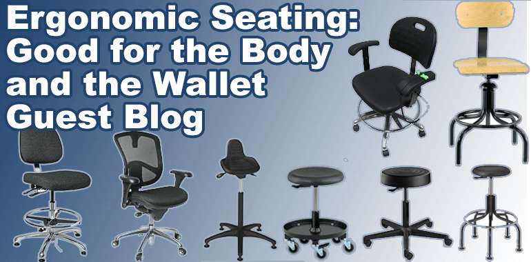 Ergonomic Seating: Good for the Body and the Wallet – Guest Blog