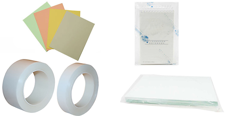 Cleanroom notebooks and cleanroom paper from Connecticut Clean Room Corporation and ValuTek