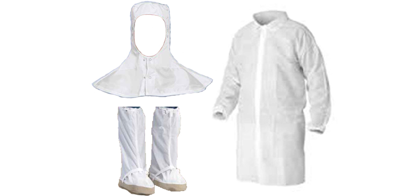 Cleanroom Garments, frocks, and coveralls from Worklon Superior Uniforms