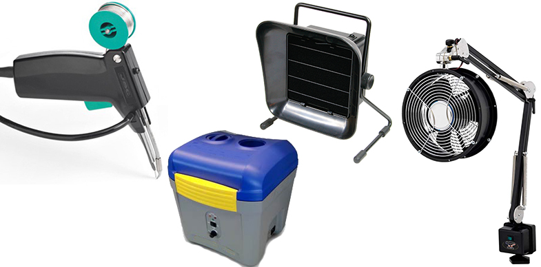 Fume extraction systems and accessories from Hakko, JBC Tools and more