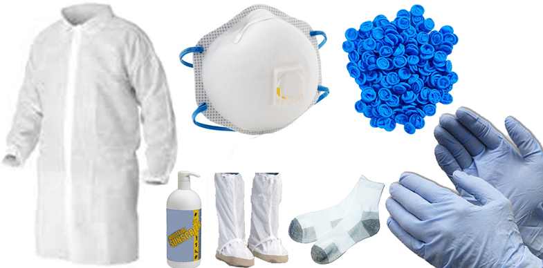 Industrial & ESD-Safe Garments, Gloves, Cleanroom Lab Coats and ESD-Safe Jackets