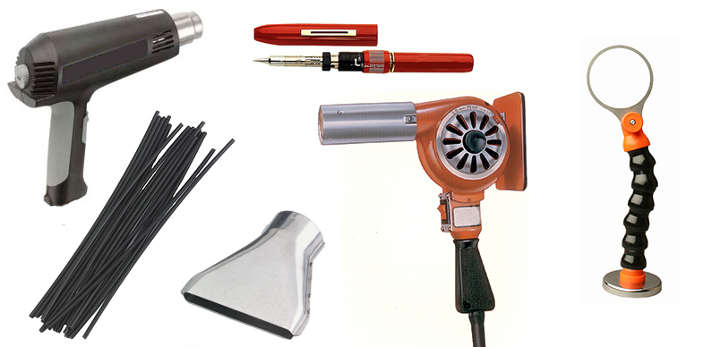 Heat Guns and Accessories from Master Appliance and Steinel