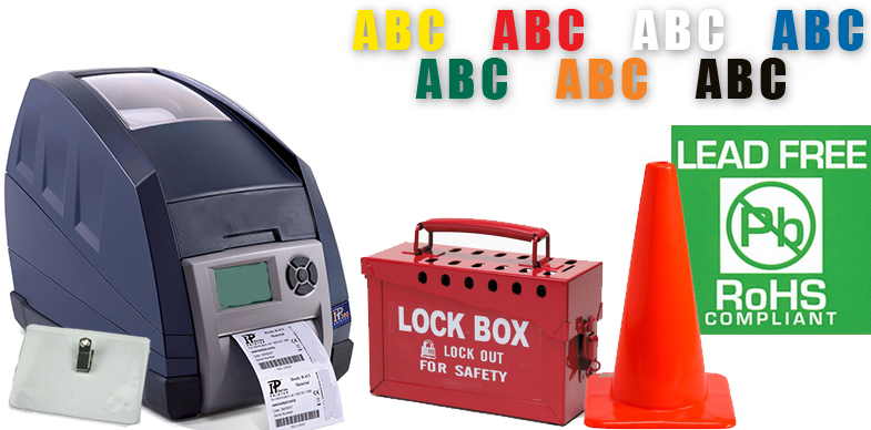 Labeling & Identification, Brady Labels, Label Printers, Ribbons and related products
