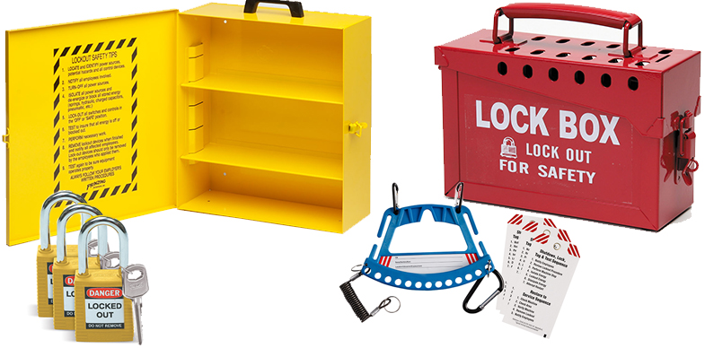Lockout Tagout Systems and other Lockout Equipment by Brady Worldwide Inc