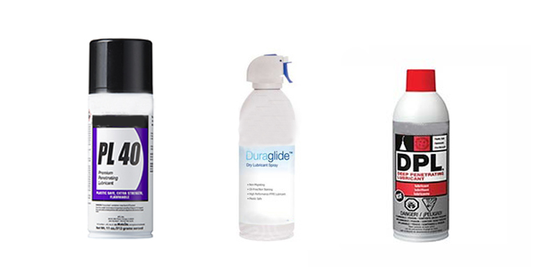 Lubricants from ACL Staticide, Chemtronics and MicroCare