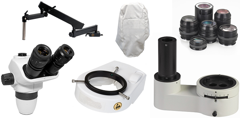 Microscope and Visual Inspection System Accessories from Scienscope International, Unitron, Vision Engineering and more