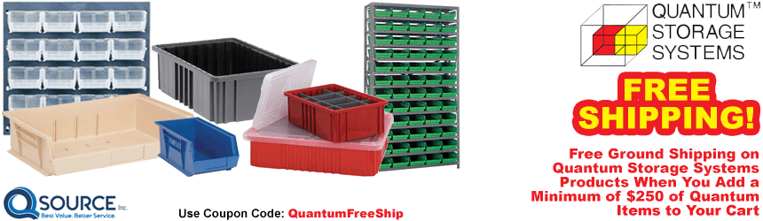 Quantum Storage Systems Free Shipping Promo