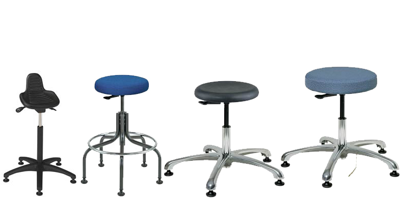 Polyurethane Stools, Task Stools, and Office Stools by Bevco Ergonomic Seating, Gibo/Kodama Seating and Industrial Seating