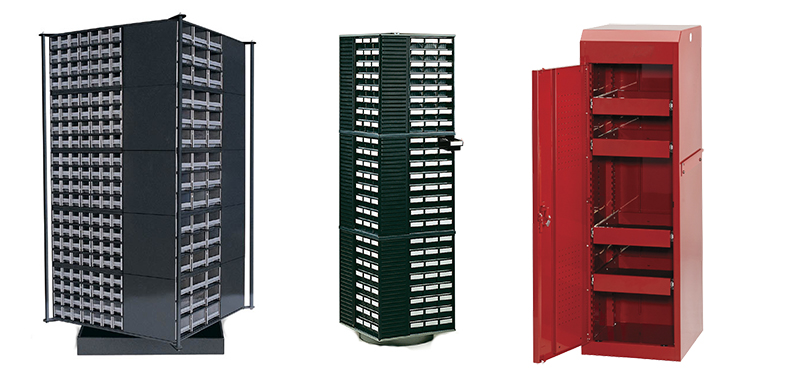 Storage Cabinets from Waterloo Industries and Treston Storage Systems.