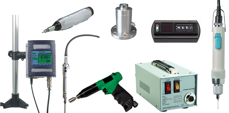 Electric Torque Drivers, Manual Torque Drivers, Pneumatic Torque drivers and accessories from ASG-Jergens
