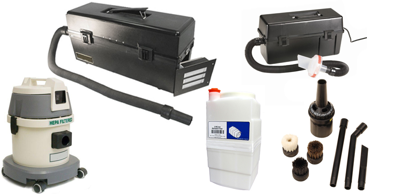 Vacuums and Filters from Atrix International, Liberty Industries, Menda and SCS