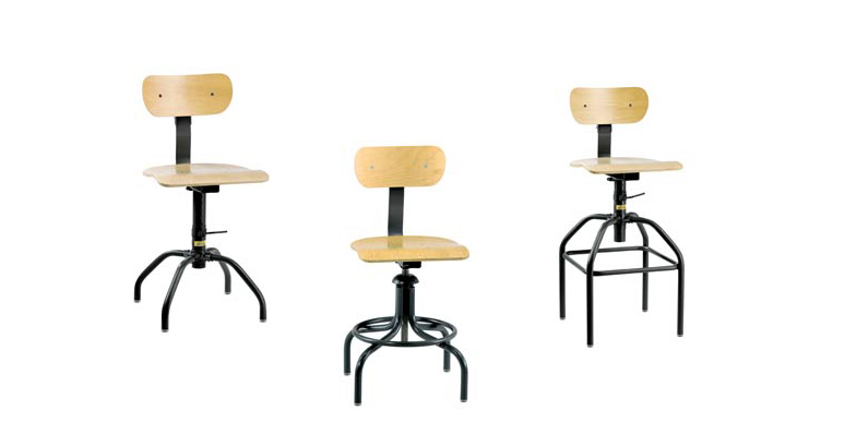 Wooden Task Chairs and Wooden Office Chairs from Bevco Ergonomic Seating