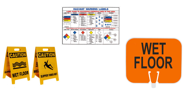 Workplace Safety Signs and Information Signs from Brady Worldwide Inc
