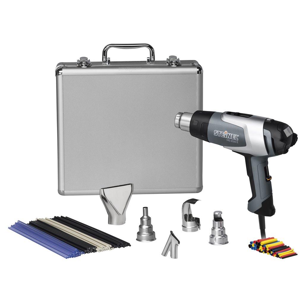 steinel 110051541 hl 2020 e silver kit 120 1150 f. Black Bedroom Furniture Sets. Home Design Ideas