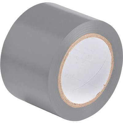 "Brady 102830 - Marking Tape Roll - Adhesive Vinyl - Solid Color - Gray - 3"" x 108"
