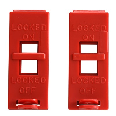 Brady 103540 - Wall Switch Lockout Devices - 2/Pack