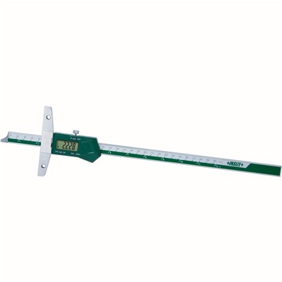 "Insize 1147-200 - Electronic Depth Gage - 0-8""/0-200 mm"