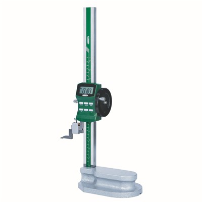 "Insize 1156-300 - Electronic Height Gage w/Driving Wheel - 0-12""/0-300 mm"
