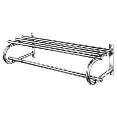 Bevco 124 - Wall Mounted Coat Rack with Shelf - Single - 24""