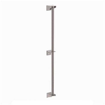 InterMetro Industries (Metro) 13PDFK4 - Metro Super Erecta Wall Mount Shelving Post w/Brackets - Metroseal Gray Epoxy - 13""