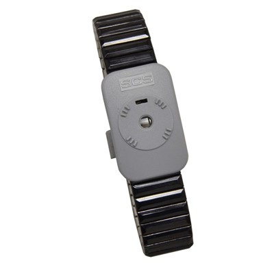 SCS 2386 - Dual-Wire Metal Wristband - Large