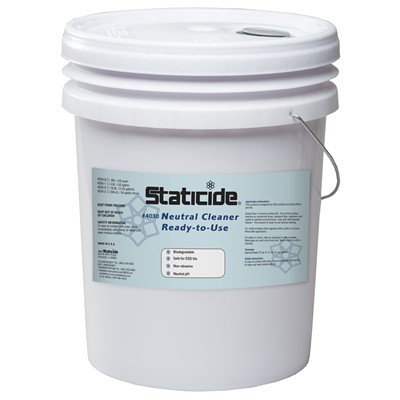 ACL Staticide 4030-5 - Neutral Cleaner Ready-to-Use - 5-Gallon