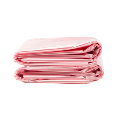 "ACL 5078C - Pink Antistatic 40-45 Gallon Trash Liners - 40"" x 46"" - 100/Pack"