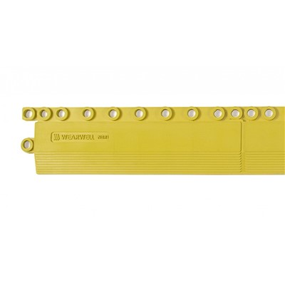 "Wearwell 578.EDGINGFGRYL - 24/Seven LockSafe Edging Female GR - 3"" x 36"" - Yellow"