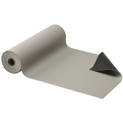"ACL Staticide 58200 - Gemini Dual Layer ESD Matting - 24"" x 50' - Light Gray"