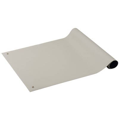 "ACL Staticide 5822448 - Gemini Series Dual Layer ESD Pre-Cut Mat - 24"" x 48"" - Light Gray"