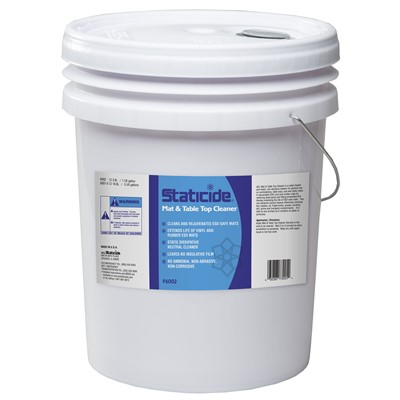 ACL Staticide 6001-5 - Mat & Table Top Cleaner - 5-Gallon