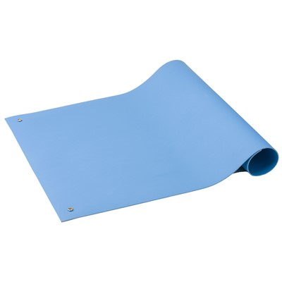 "ACL Staticide 6212436 - SpecMat-H Series Homogeneous Pre-Cut Mat - 24"" x 36"" x 0.10"" - Light Blue"