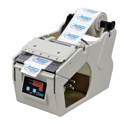 "ASG 66147 - LDX-130 Label Dispenser - 120V - 6.5"" x 6.8"" x 11"""
