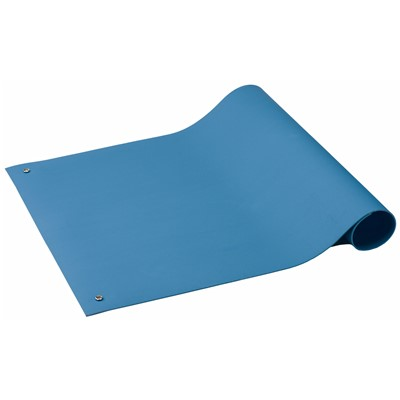 "ACL Staticide 6672448 - SpecMat-H Series Homogeneous Pre-Cut Mat - 24"" x 48"" x 0.06"" - Medium Blue"