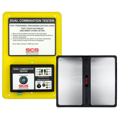 "SCS 770758 - Dual Combination Tester - 11.35"" x 7.75"" x 1.47"""