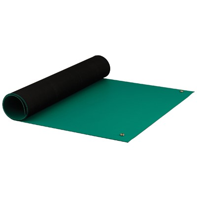 "ACL Staticide 8185GR2440 - Dualmat Series 2-Layer Static Dissipative Matting - 24"" x 40' - Green"