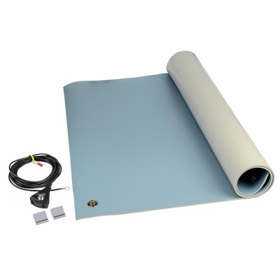 SCS 8214 - 3-Layer Dissipative Vinyl Table Mat - 2
