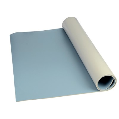 "SCS 8234 - 8200 Series 3-Layer Vinyl Mat Roll - 0.140"" x 24"" x 50' - Blue"