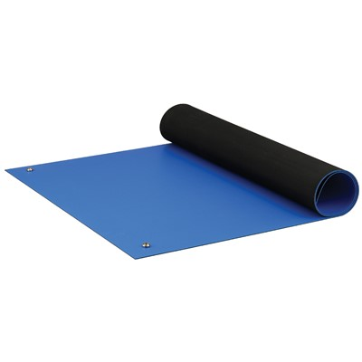 "ACL Staticide 8285RBM2460 - Dualmat Series 2-Layer Static Dissipative Pre-Cut Mat - 24"" x 60"" - Royal Blue"