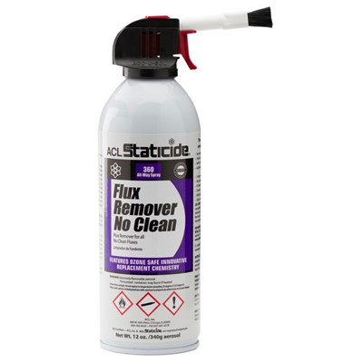 ACL 8623 - Staticide Flux Remover - No Clean - 12 oz. Can