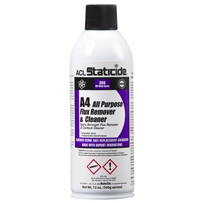 ACL Staticide 8624 - All Purpose Flux Remover & Cleaner - 12 oz.