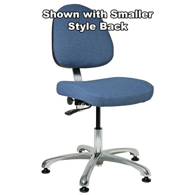 "Bevco 9050L-S - Integra 9000 Series Upholstered Office Chair - 15.5""-21"" - Mushroom Glides"