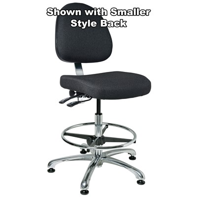 Bevco%209351L-S%20-%20Integra%209000%20Series%20Upholstered%20Office%20Chair%20-%2019%22-26.5%22%20-%20Mushroom%20Glides