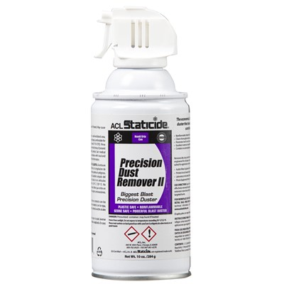 ACL Staticide 8037 - Staticide® Precision Dust Remover II - 100% Ozone Safe - 10 oz Can