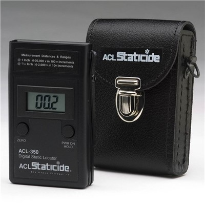 ACL Staticide ACL 350 - Digital Static Locator w/Carrying Case