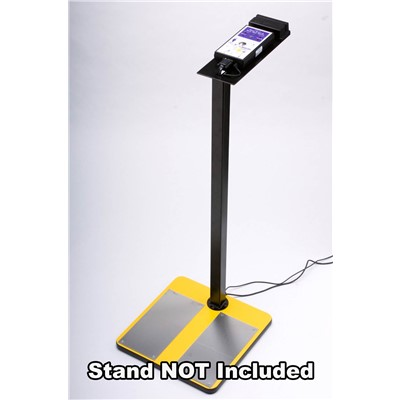 ACL Staticide 750WS - Combo Tester for Wrist Straps & Heel Grounders - PC Software - Footplate