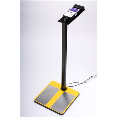 ACL Staticide ACL 750 - Combo Tester for Wrist Straps & Heel Grounders - PC Software - Footplate & Heavy Duty Stand