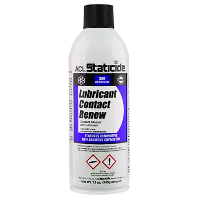 ACL Staticide 8606 - Lubricant Contact Renew - 12 oz