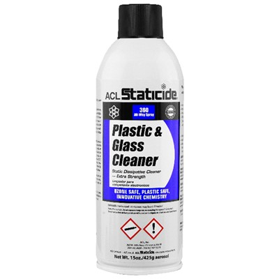 ACL Staticide 8670 - Plastic & Glass Cleaner - 15 oz