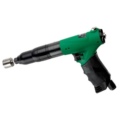 "ASG 26C10APA-3I - Fiam 26C 3I Series Forward Pistol Grip 0.25"" Hex Triple Air Inlet Pneumatic Screwdriver - Trigger Start - 30.98 to 84.08 lbf.in - 800 RPM"